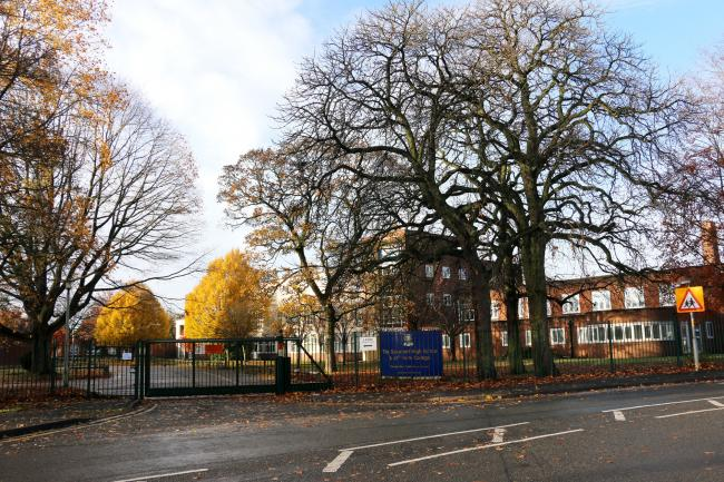 Stourport High School was among the schools taking part