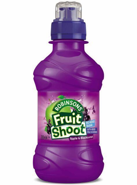 The Food Standards agency has issued an urgent recall notice for Robinson's Fruit Shoot Apple and Blackcurrant. Picture: Newsquest