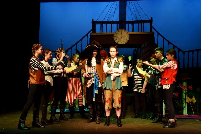 Kidderminster Rose Young People's Theatre's production of Peter Pan. PIC: Colin Hill