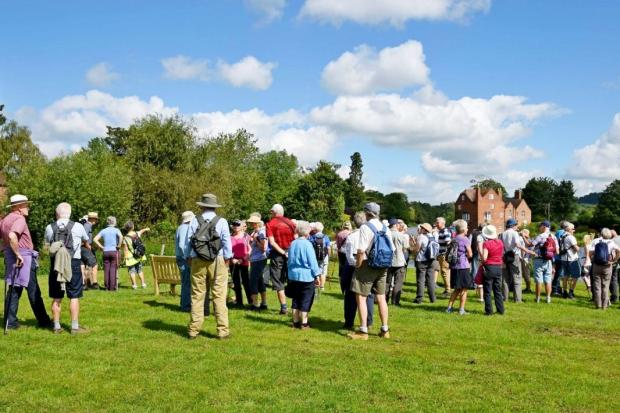 Great turn out for Walking Festival