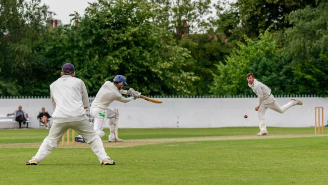 Action from Kidderminster's defeat against Knowle and Dorridge. Photo by Paul Hickey