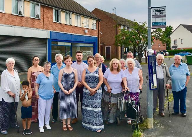 Residents of Kidderminster's Habberley Estate want the bus service reinstated