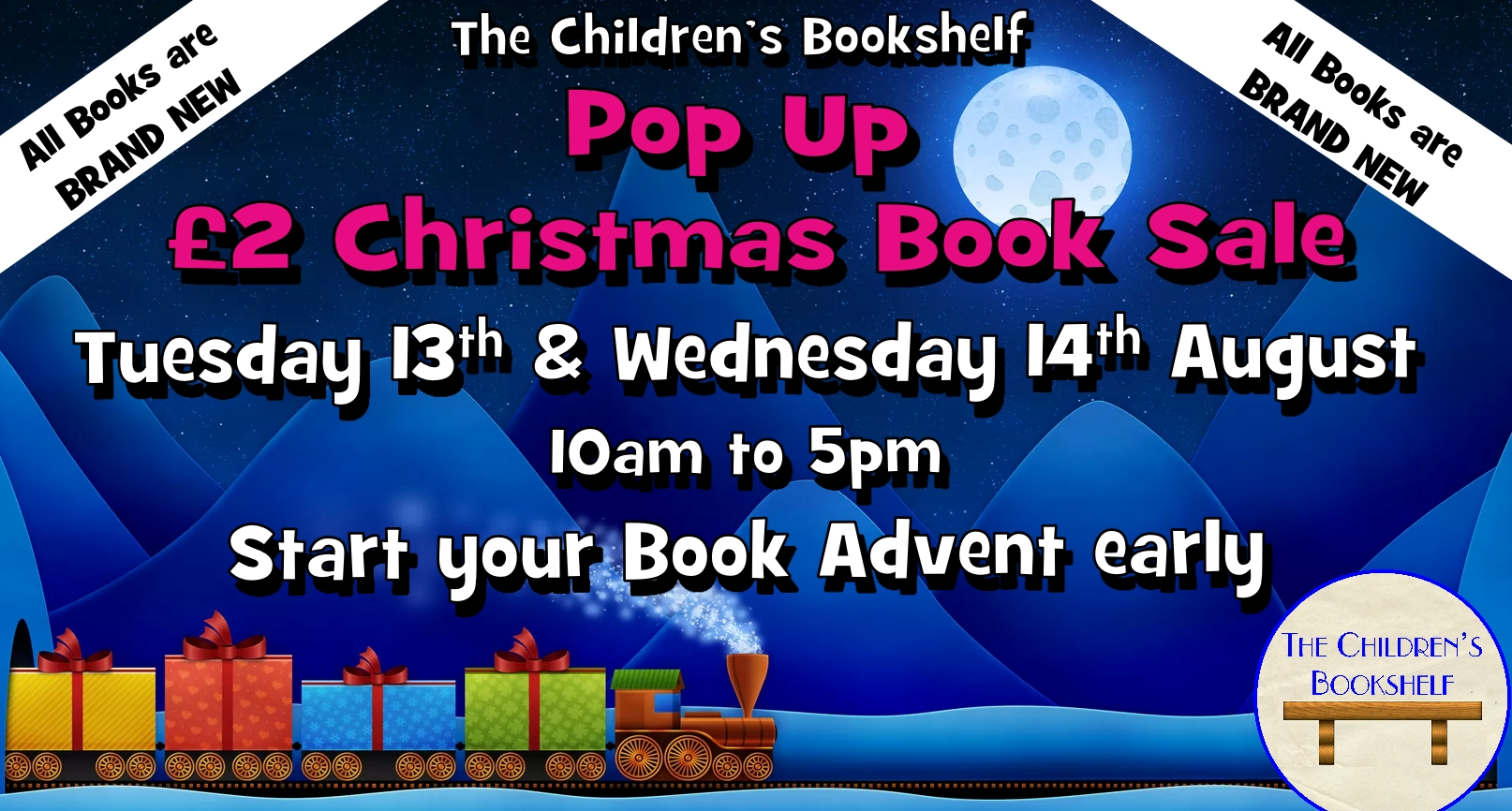 Pop Up £2 Christmas Book Sale