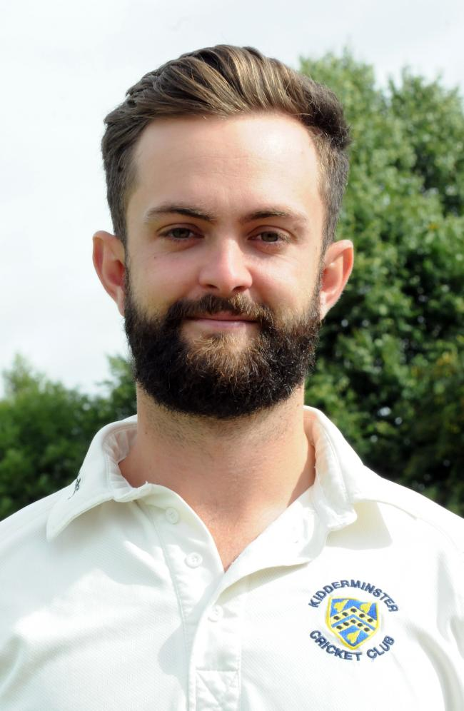 Neil Pinner hit a century for in-form Kidderminster