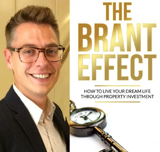 Ian Halfpenny and his new book The Brant Effect