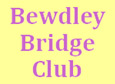 Bewdley Bridge Club