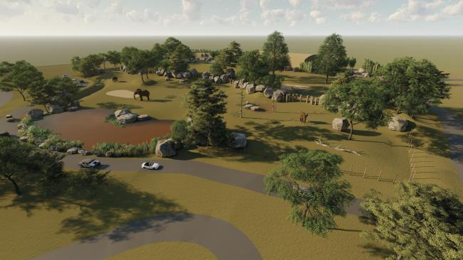 Planning has been granted for a new wildlife development at West Midland Safari Park.