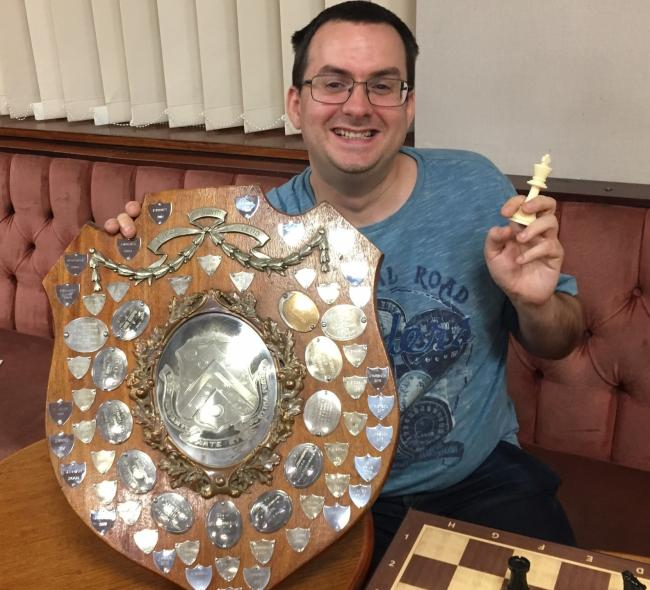 Chess champion Dave Spowart