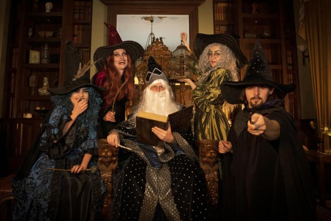 A new resident family of witches and wizards are ready to charm guests at West Midland Safari Park's Spooky Spectacular.