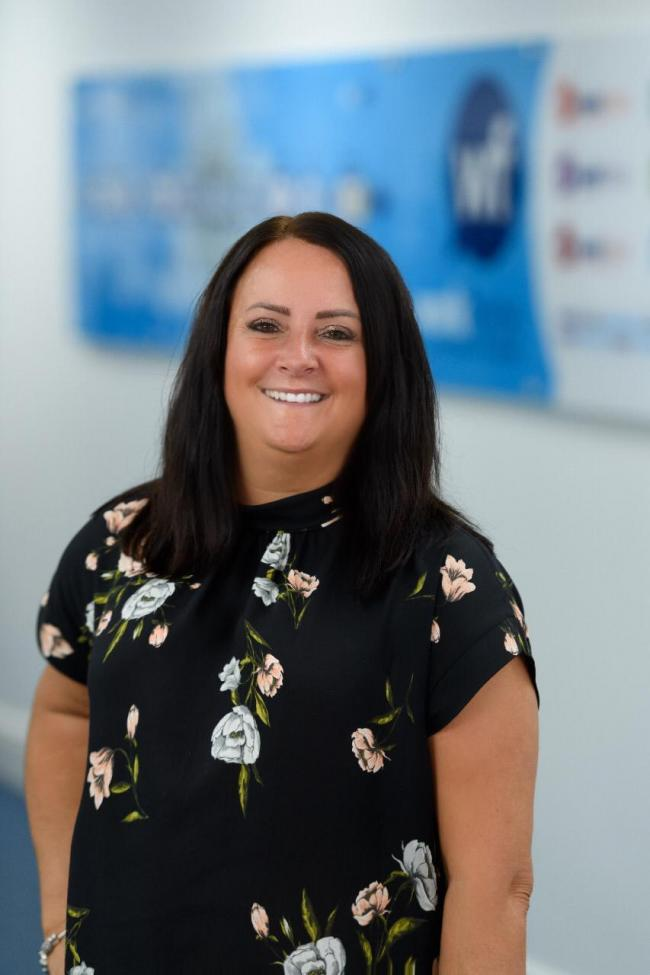 Trudy Harding, 45, has reached 10 years at recruitment business Workforce Staffing after joining in a part-time account management role