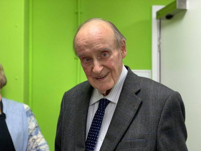 Charles Talbot MBE died on Saturday, October 19