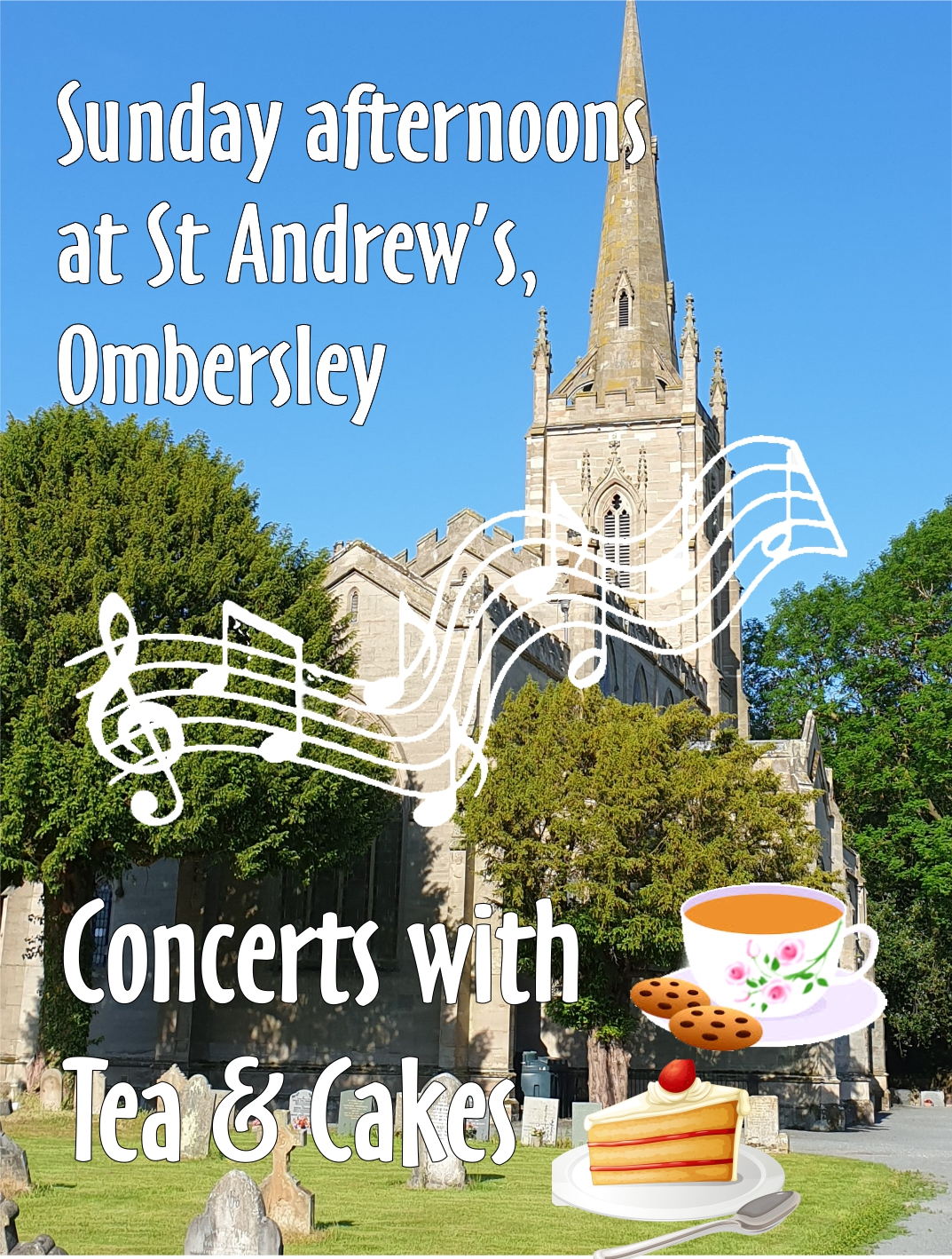 2 Community Choirs - concert with Tea & Cakes!