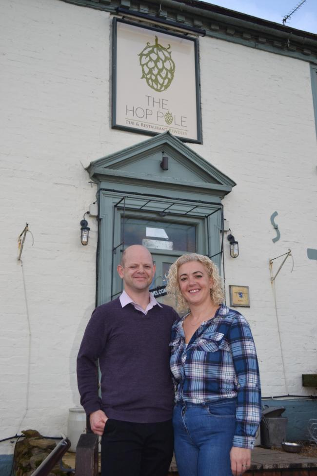 Richard and Maresa Sheasby will take over The Hop Pole pub in Bewdley on Monday
