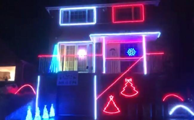 Nick Wright has rigged up his house in Malham Road, Stourport, with 2,000 colour-changing Christmas lights, programmed alongside a playlist of 14 rock songs