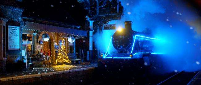 The SVR Steam in Lights