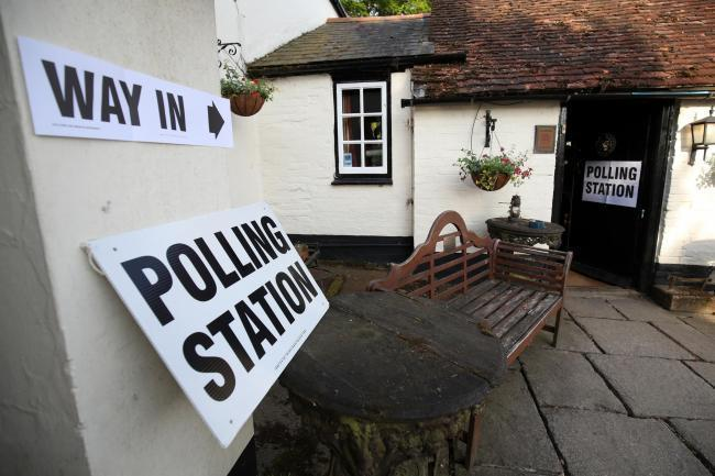Polling stations in Wyre Forest will be open between 7am and 10pm on Thursday, December 12. Photo by Press Association