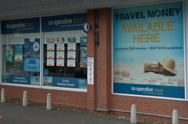 The Co-operative Travel on Lombard Street, Stourport. PIC: Google Maps