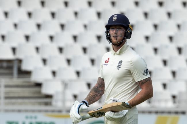 England batsman Ben Stokes has apologised for his language after being dismissed in Johannesburg