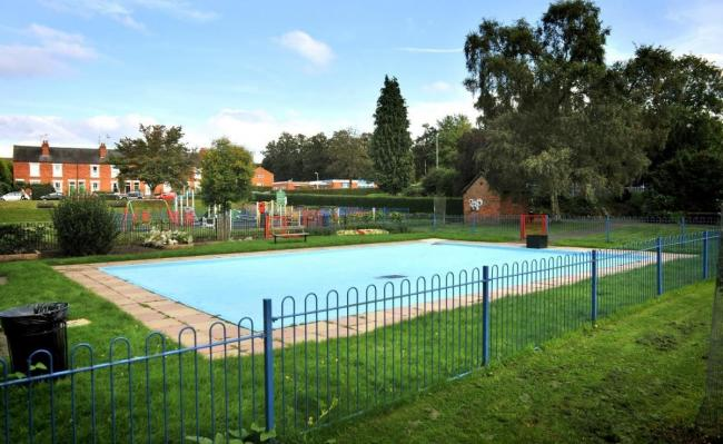 The paddling pool at St George's Park is at risk of closure if no one comes forward to take on the cost to run it