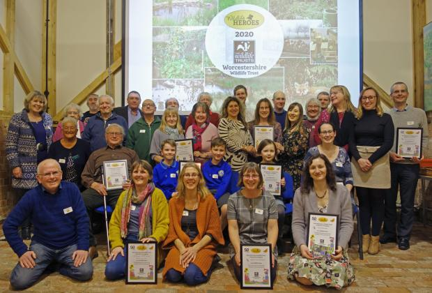 Kidderminster Shuttle: The 31 winning Wildlife Heroes
