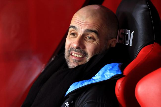 Pep Guardiola is yet to comment publicly on City's UEFA ban