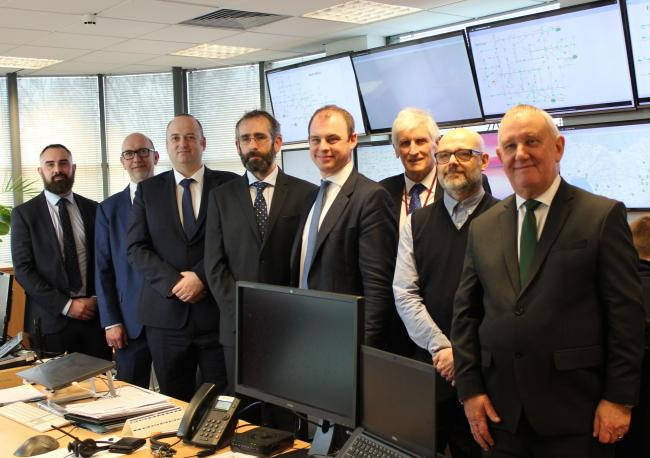 Worcestershire 5G consortium members with Matt Warman MP, Minister for Digital and Broadband. Picture Worcestershire County Council