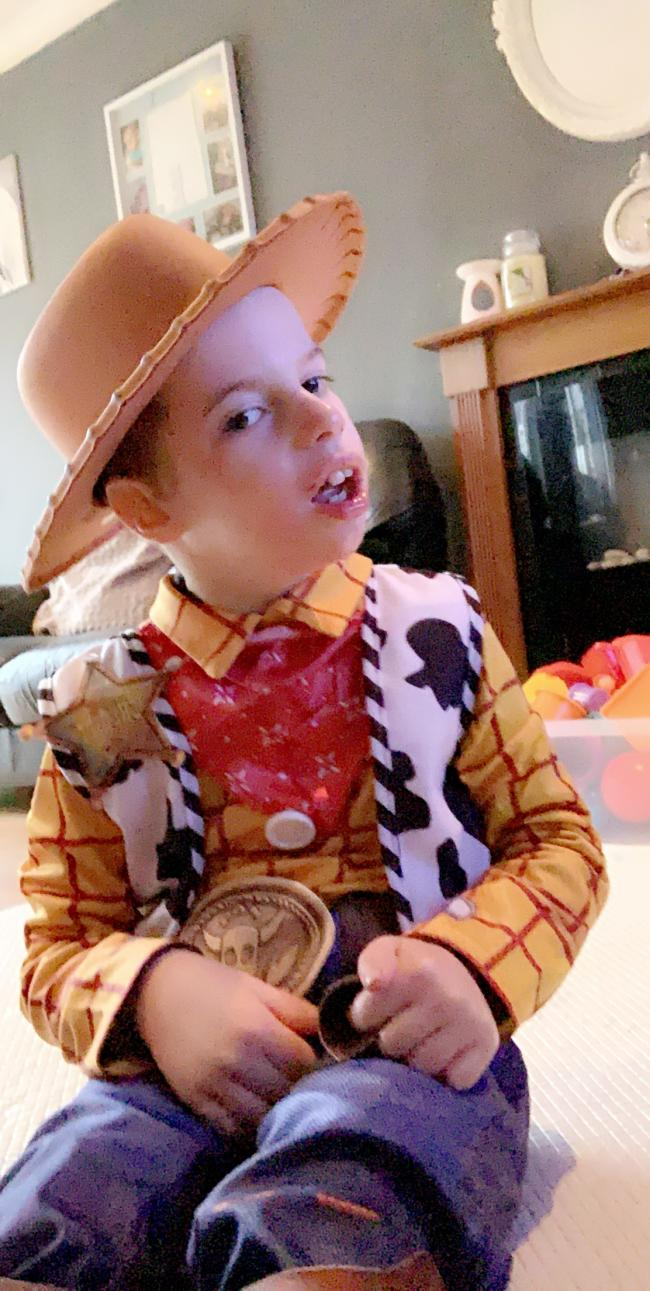 Harley Hirons  Age 7  Wyre forest school  Woody- toy story