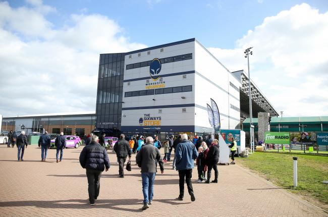 TICKETS: Worcester Warriors has slashed season ticket prices. Pic. James Baylis/JMP