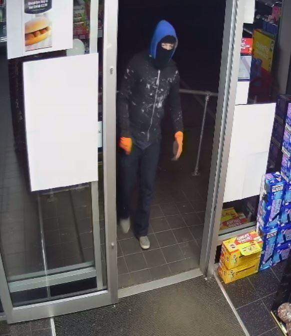 Police have released a CCTV image of the robber