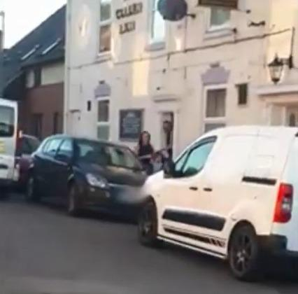 A video has emerged of people leaving a Kidderminster pub after the Prime Minister's closure order. Photo by Paige Price
