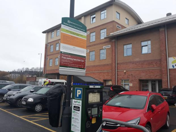 Kidderminster Shuttle: Wyre Forest District Council changed its parking charge structure in June