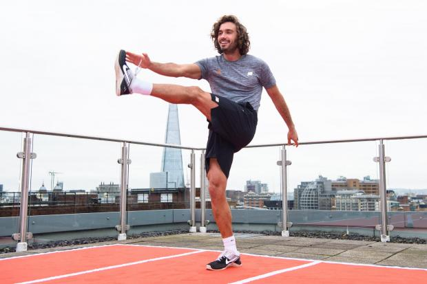 GENEROUS: Joe Wicks is to donate all money from his fitness sessions to the NHS
