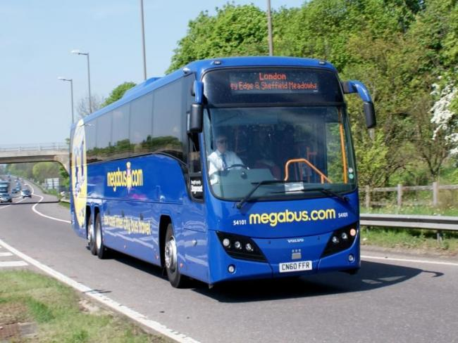 SUSPENDED: Megabus and National Express have 'temporarily' suspended all services in England and Wales due to the ongoing coronavirus pandemic. Picture: Newsquest