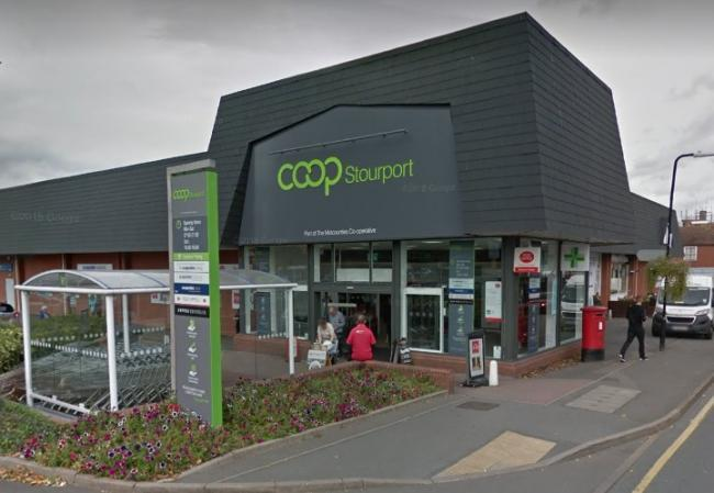 The Midcounties Co-operative in Lombard Street, Stourport. Photo by Google Maps