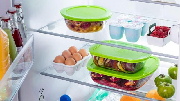 Kidderminster Shuttle: Pyrex glass containers are perfect for food storage. Credit: Pyrex