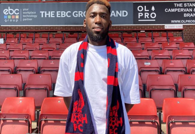 Amari Morgan-Smith has signed for Kidderminster Harriers. Picture: Kidderminster Harriers