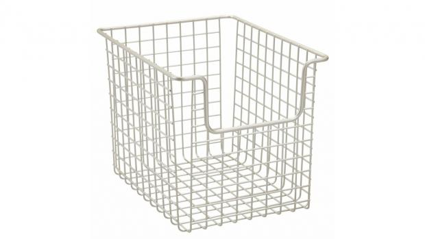 Kidderminster Shuttle: Baskets can help organise all your bathroom essentials. Credit: Amazon
