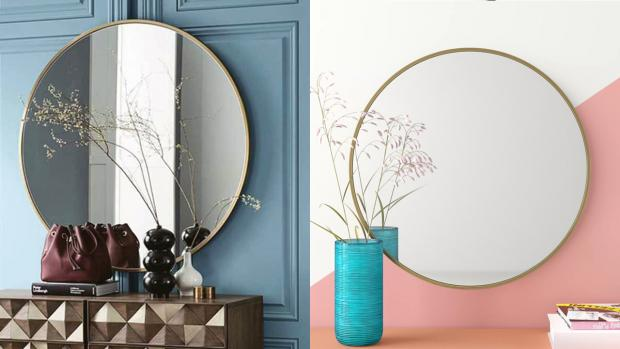 Kidderminster Shuttle: A bigger, more modern mirror will create the illusion of more space. Credit: Wayfair