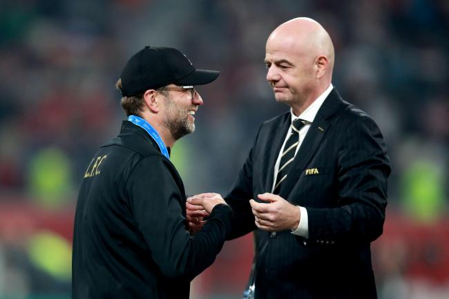 Liverpool's manager Jurgen Klopp said he is prepared to give his own Premier League winners' medal to a member of the squad or backroom team if they are to miss out