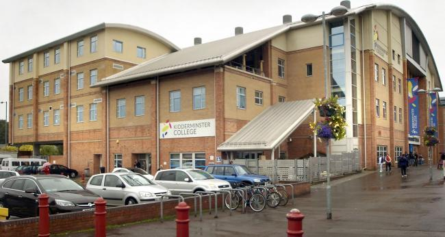 Kidderminster College has received £550,000 from the government's Getting Building Fund