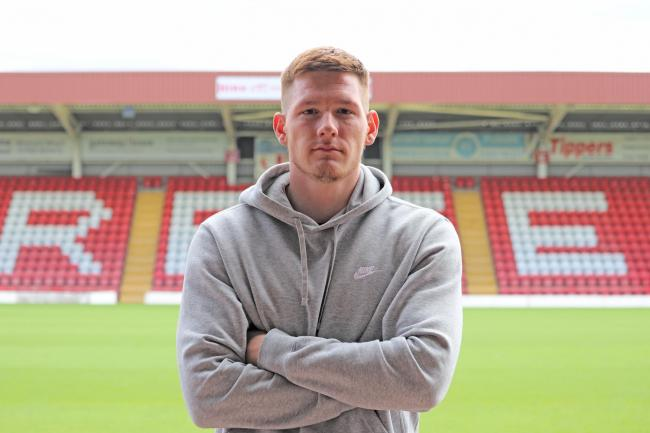 Luke Maxwell has signed for Harriers. Picture KHFC