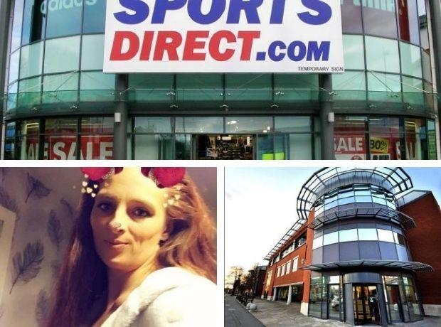 THIEF: Zoe Clark hid her stolen items from Sports Direct in a carrier bag on her push chair