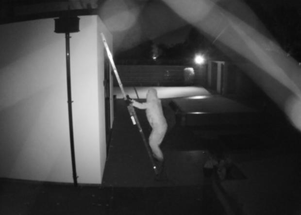Kidderminster Shuttle: CCTV captures one of the burglaries taking place