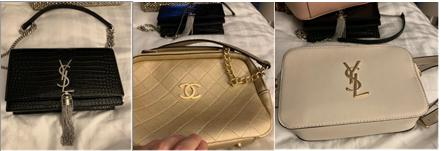 Kidderminster Shuttle: A photo of stolen handbags found on a phone belonging to Thomas Mee