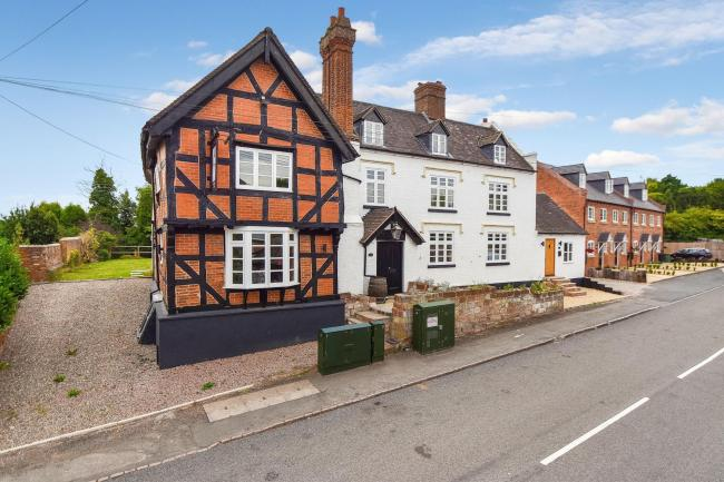 Former Hartlebury pub The Talbot has been transformed into three new homes
