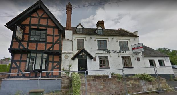Kidderminster Shuttle: The Talbot in 2014. Photo from Google Maps