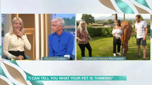 FAME: Worcestershire 'pet psychic' appears on This Morning
