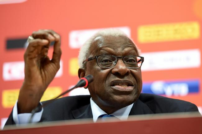 Lamine Diack served as IAAF president between 1999 and 2015
