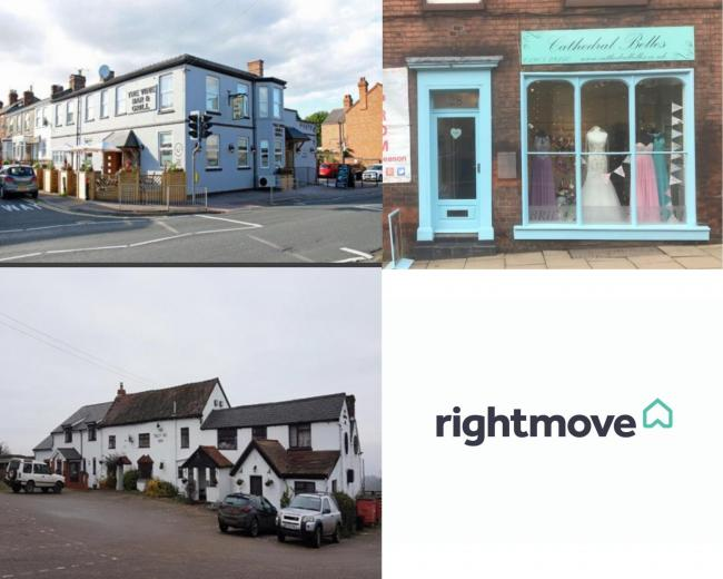 Here are five Worcestershire pubs and shops up for sale on Rightmove. (Photo: Rightmove)