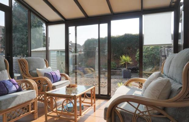 Kidderminster Shuttle: A conservatory in the property (Photo: Rightmove)